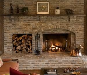 How To Place Firewood In Fireplace by The Wood Storage Next To Place Fabulous