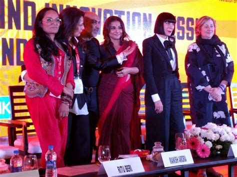Fashion On Patrol In India by Vidya Balan Slams Fashion At The Make In India Week