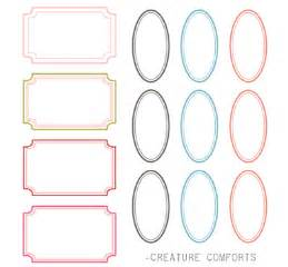 Labels Templates Free by For The Of Free Labels Part 1 I Do It Yourself 174