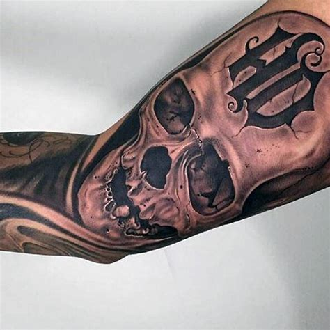 90 harley davidson tattoos for men manly motorcycle designs