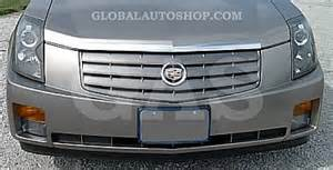 2005 Cadillac Cts Grill Cadillac Cts Chrome Grill Custom Grille Grill Inserts
