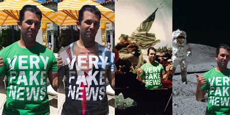 donald trump jr news donald trump jr has sparked a photoshop war of epic