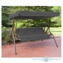 Swing Bench Canopy Replacement by Replacement 3 Seater Swing Seat Canopy Cover And Cushions