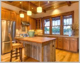 Decorating Ideas For Kitchen Islands Rustic Kitchen Island Ideas Home Design Ideas
