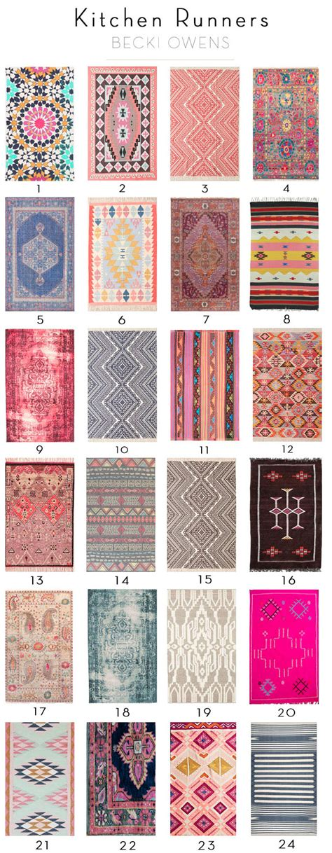 colorful runner rugs rugs ideas