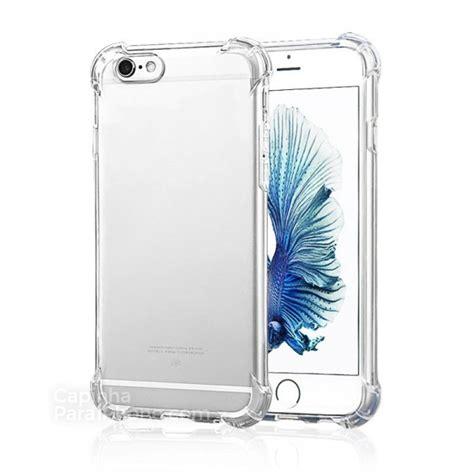 Pzoz Soft Silicone Clear Iphone X 5 8 capa para iphone 6 6s antiqueda transparente