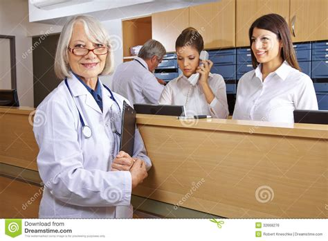 Hospital Receptionist by Image Gallery Hospital Receptionist