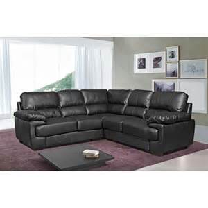 Black Leather Corner Sofa Chelsea 5 Seat Large Black Leather Corner Sofa