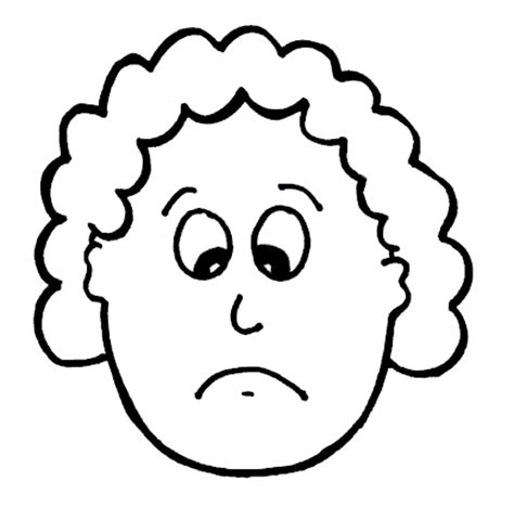 Sketch Sad Emoji Coloring Pages Sad Coloring Page