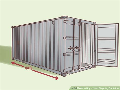 buy a used how to buy a used shipping container 11 steps with pictures