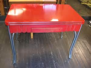 1950 Kitchen Tables 1950 S Enamel Draw Leaf Kitchen Table Sold White Trash Nyc