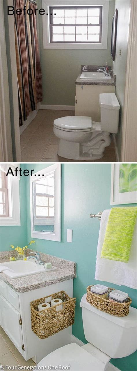 bathroom makeover ideas 28 best budget friendly bathroom makeover ideas and