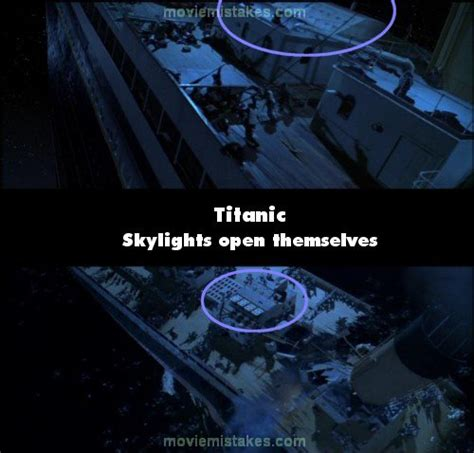 titanic film bloopers titanic movie mistake picture 16