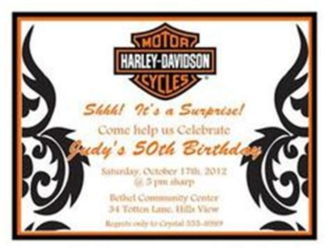 Free Printable Harley Davidson Birthday Cards 1000 Images About Harley Davidson Party Ideas On