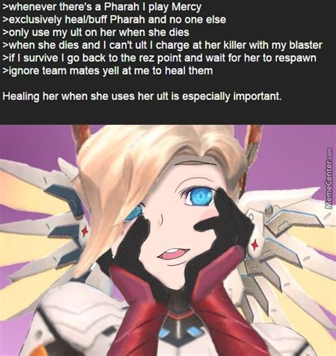 Mercy Meme - does this look like the face of mercy by barcaborn meme