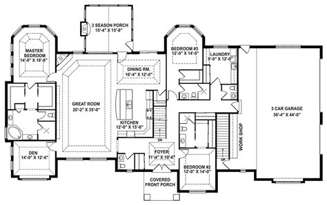 One Story Open Floor Plans 301 Moved Permanently