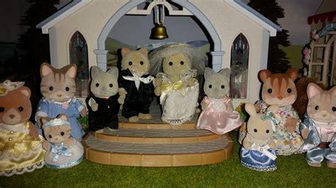 fellini cat wedding sylvanian families