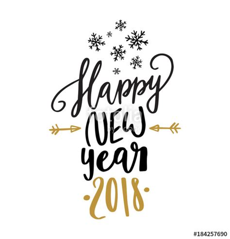 quot happy new year calligraphy quot stock image and royalty free