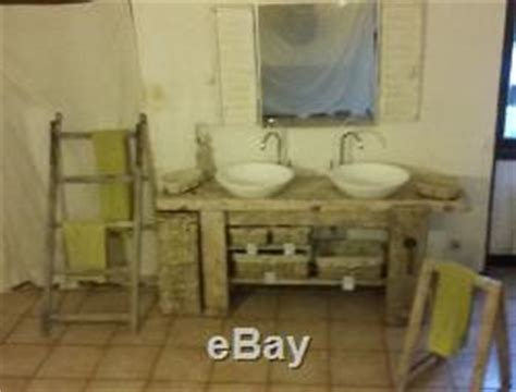 meuble salle de bain deux vasques ancien etabli