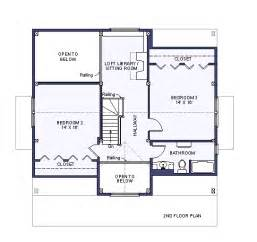 Building Plans Houses by Second Floor Plan