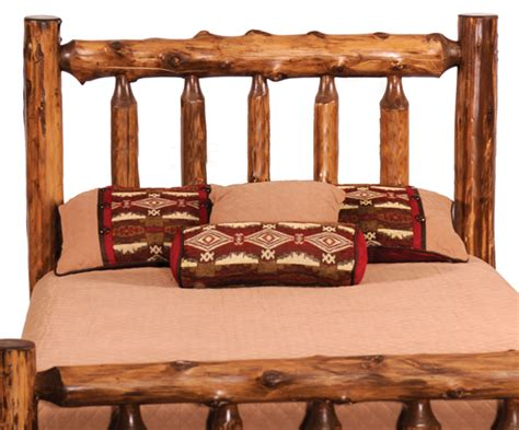 Rustic King Size Headboard by Rustic Headboards King Size Vintage Cedar Log Headboard