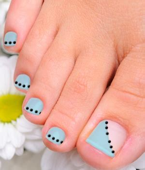 Nail Shine Pedi Murah 6 Step easy toenail design for beginners tutorial creative
