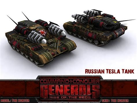 Russian Tesla Russian Tesla Tank Image Rise Of The Reds Mod For C C