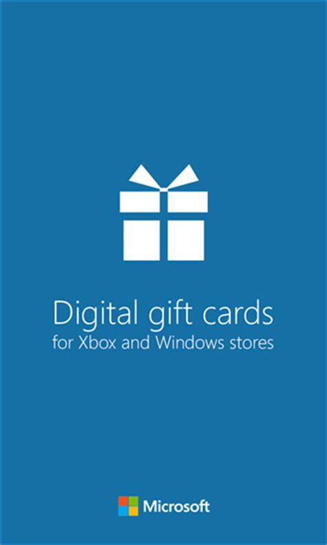 Buy Digital Gift Cards - microsoft launches digital gift cards for xbox and windows stores neowin