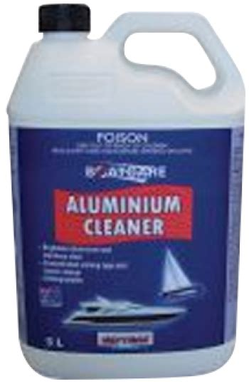aluminium boat cleaning products septone trade industrial cleaner marine aluminium