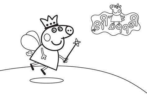 imagenes para pintar de peppa pig im 225 genes de peppa pig para colorear dibujos de