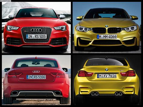 Rs5 Vs M5 by Bmw M4 Vs Audi Rs5 Epic Track Battle