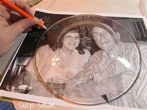 hometalk easy   decoupage photo plates beautiful