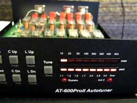 ldg   proii antenna tuner  work youtube
