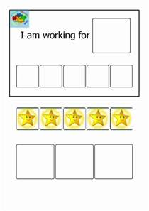 Token Board Template by Printable Token Board Early Childhood Education