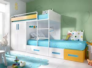 Bunk Bed With Wardrobe Modern Rimobel Bunk Bed With Bed Wardrobe And Drawers