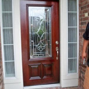 Front Door Refinishing Houston Front Door Refinishing Before After Photos