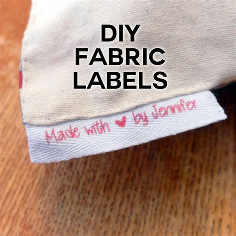 inkjet printable iron on labels diy fabric labels on twill tape jennifer maker