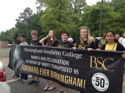 by c sade turnipseed pictures to pin on pinterest birmingham southern students marching to recognize and