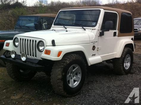 1998 Jeep For Sale 1998 Jeep Wrangler For Sale In Plains Township
