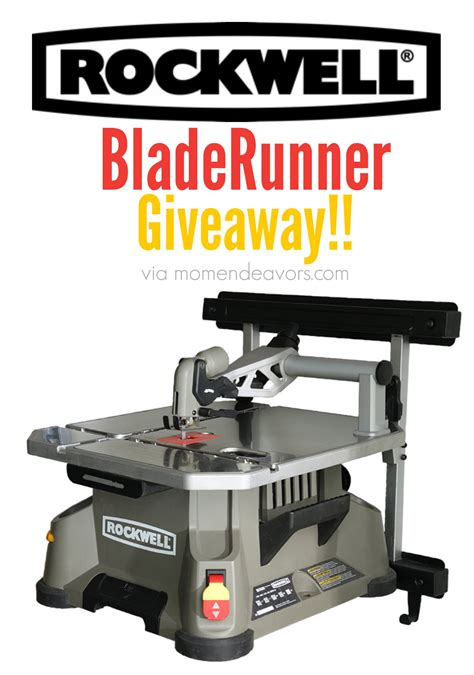 Giveaway Tools - rockwell tools bladerunner giveaway