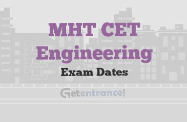 Mht Cet Pattern For Engineering | eamcet 2017 exam dates and events getentrance com