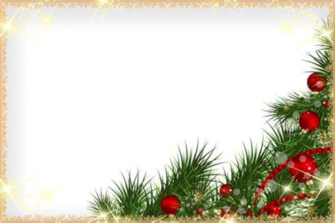cornice natalizia photoshop cadres frame rahmen quadro png noel