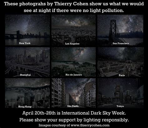 night sky without light pollution nature and wildlife how far away from artificial light