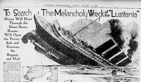 ww1 sinking of the lusitania the sinking of lusitania ww1 pictures to pin on