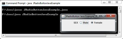 jradiobutton exle in java swing jradiobutton exle in java swing