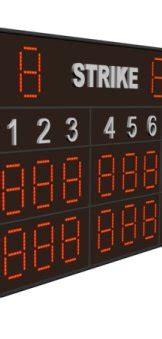 mlb scoreboard mobile baseball scoreboard with wireless held controller and
