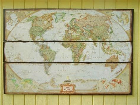 Decorative Wall Maps by World Map World Map Wall Decor Large National
