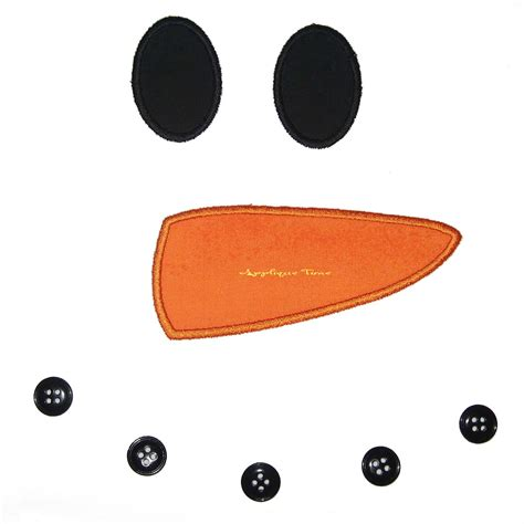 snowman nose template snowman machine embroidery applique design 5x7 and 6x10