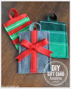 diy felt gift card holders vicky barone