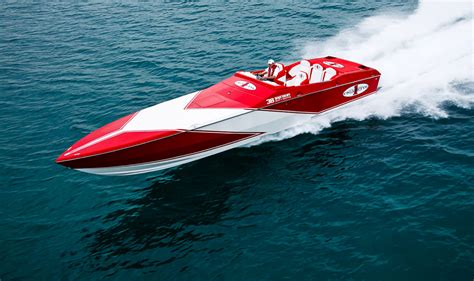 nordic cigarette boat three months out a 565 update mercury racing